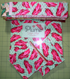 Plume Jelly Roll Charm Squares Layer Cake